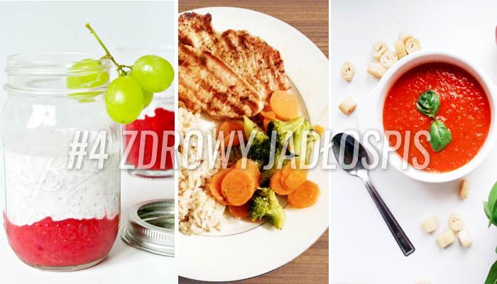 Zdrowy dietetyczny jadlospis