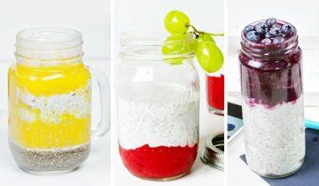 3 pomysły na pudding chia