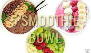 5 Smoothie bowl for breakfast