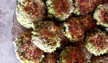 Wysokobiałkowe kotlety warzywne