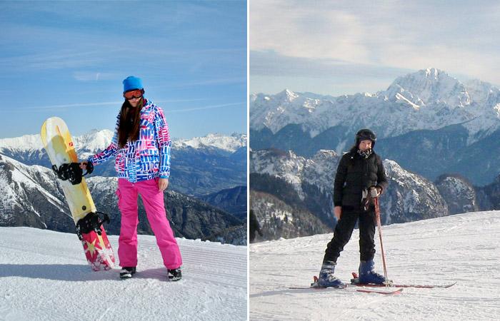 snowboard czy narty