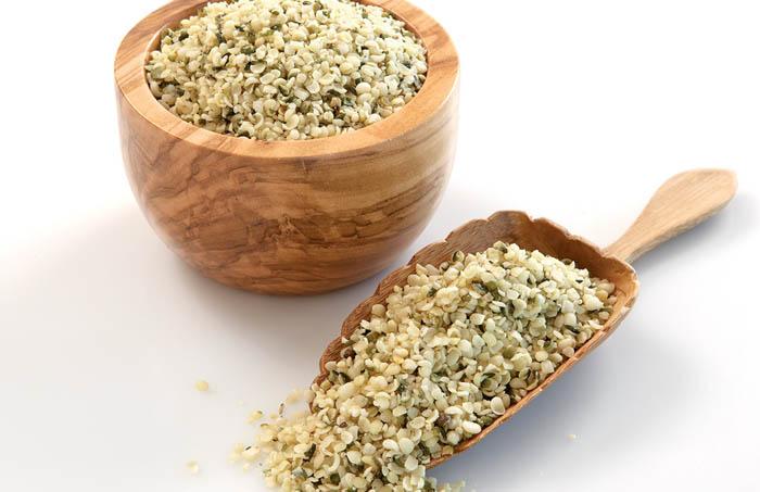 nasiona konopii - zdrowe produkty