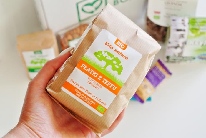 płatki teff - zdrowe produkty