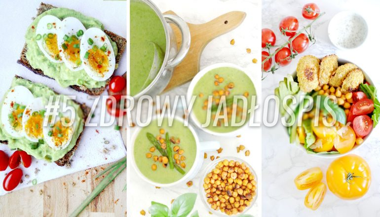 wegetariański jadłospis - dieta wegetariańśka