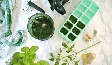 Domowe kostki ziołowe przez cały rok