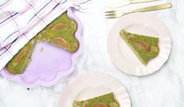 Ciasto warzywne z brokuła