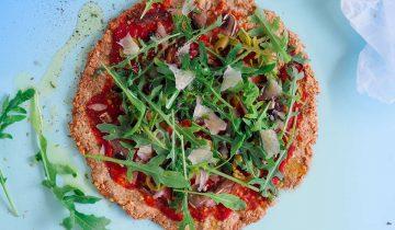 Fit Pizza z kaszy gryczanej