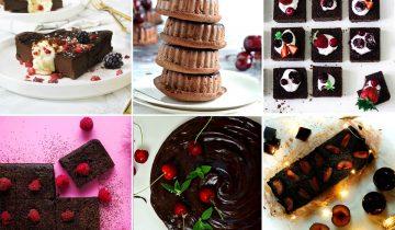 6 przepisów na zdrowe brownie czekoladowe