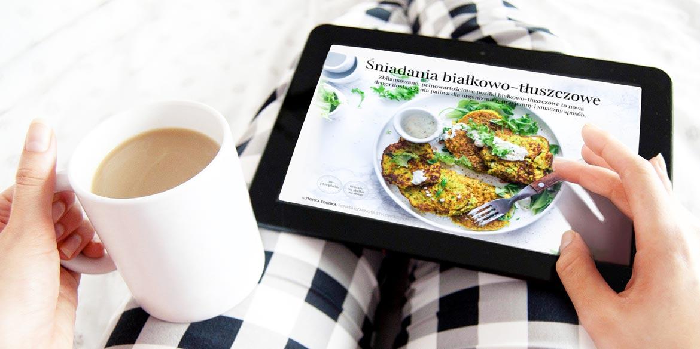 Sklep slider śniadania białkowo-tłuszczowe