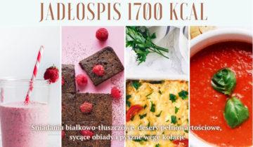 Zdrowa dieta – jadłospis 1700 kcal