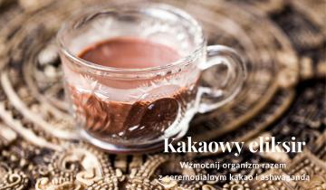 Kakaowy eliksir wzmacnający organizm