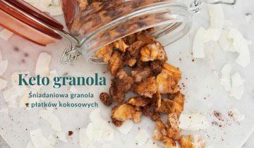 Proteinowa granola bez płatków owsianych