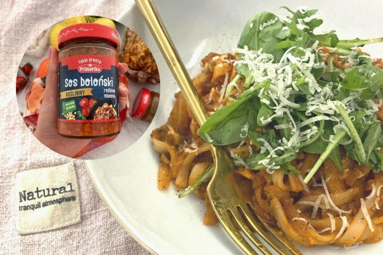 Dietetyczne spagetii roślinne